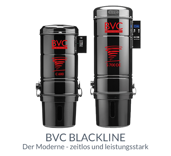 Zentralstaubsauger BVC Blackline - zeitlos und leistungsstark