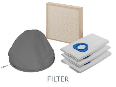 Filter für BVC Zentralstaubsauger