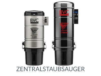 BVC Zentralstaubsauger Silverline und Blackline