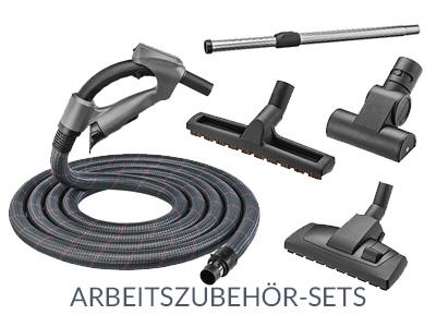 Arbeitszubehör-Sets für Zentralstaubsauger