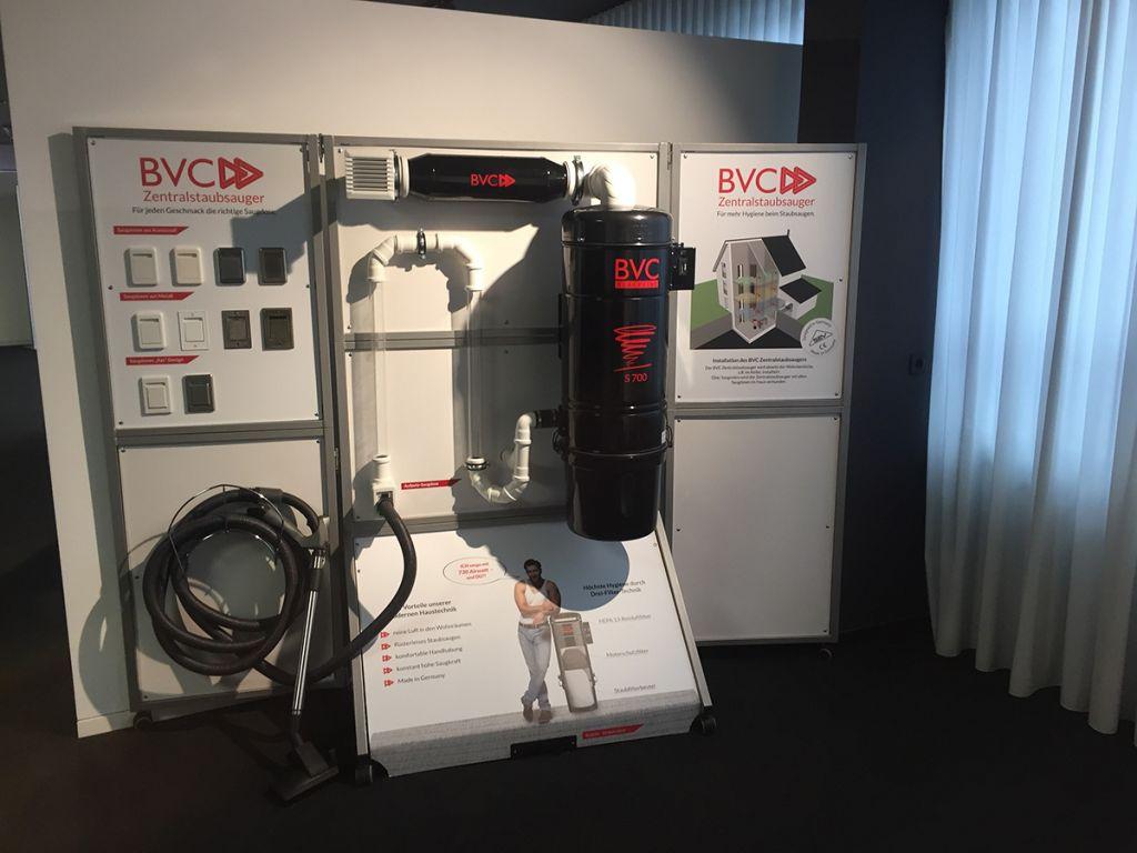 BVC Zentralstaubsauger in der Musterhausausstellung Fellbach 5