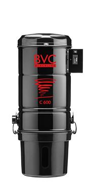 BVC Zentralstaubsauger C 600 Blackline