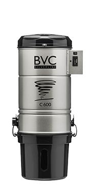 BVC Zentralstaubsauger C 600 Silverline