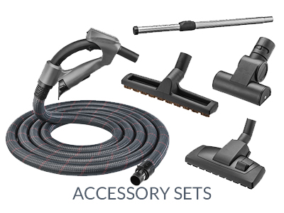 accessory sets for central vacuum cleaner