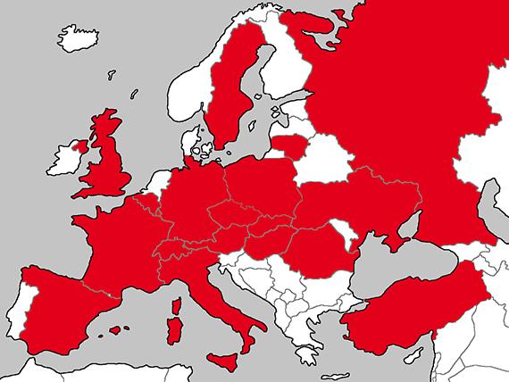 BVC Auslandsvertretungen