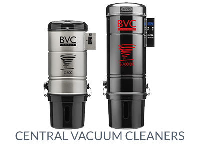 BVC central vacuum cleaners