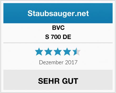 """BVC S 700 DE Blackline erhält das Testurteil """"sehr gut"""" 2"""