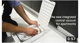 Integravac central vacuum for apartements