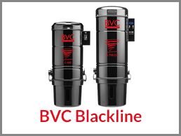 BVC central vacuum cleaner Blackline