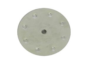 Stahlplatte für BVC Saugdose