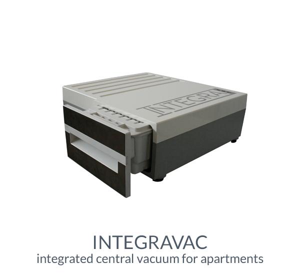 integravac central vacuum cleaner