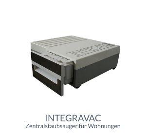 Integravac Zentralstaubsauger für Wohnungen