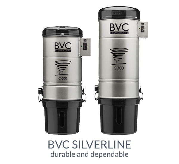 BVC central vacuum cleaner Silverline
