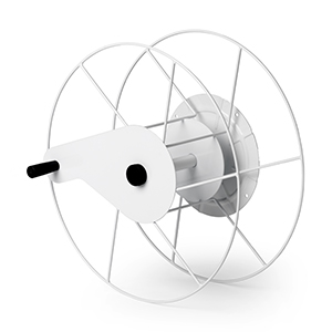 Quickroll hose reel for vacuum hoses