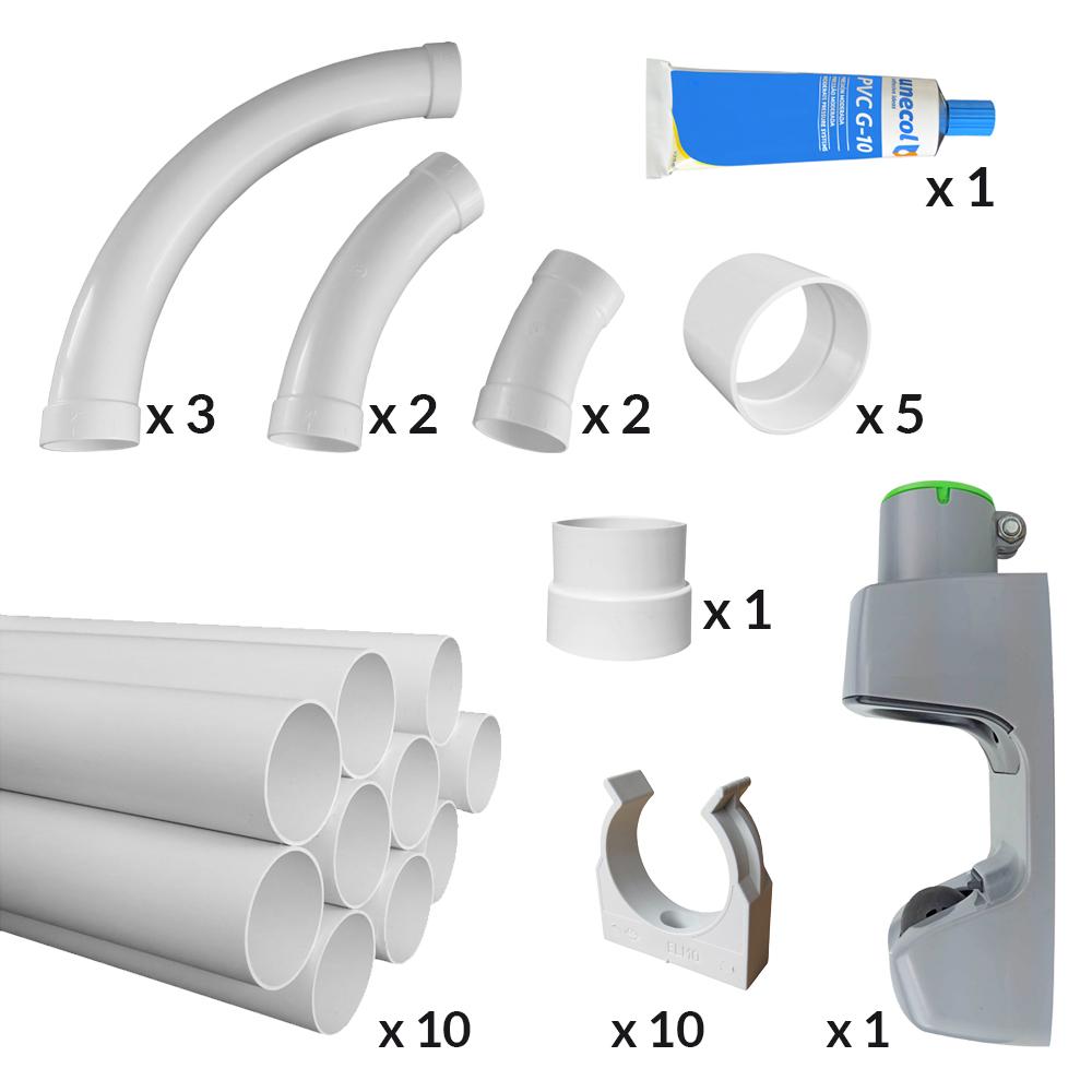 Vroom Retract Vac®- Schlaucheinzugsystem für die Garage 1